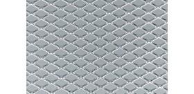 Griglia - Maglia media 125 x 30 cm - Alluminio