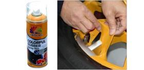 Pellicola spray arancione